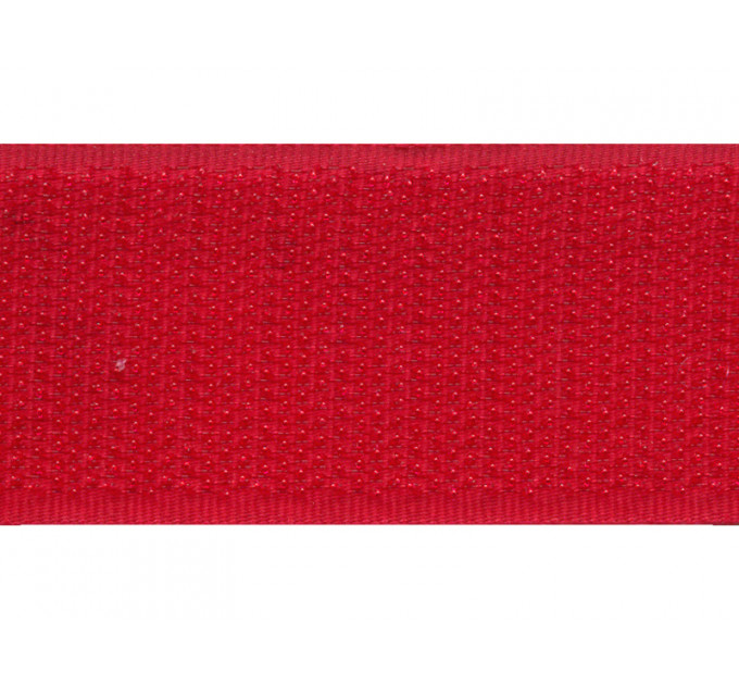 Лента крючковая 3С442, красный