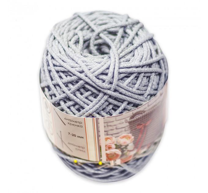 Шнур для рукоделия отделочный 60184/200-040, светло-серый