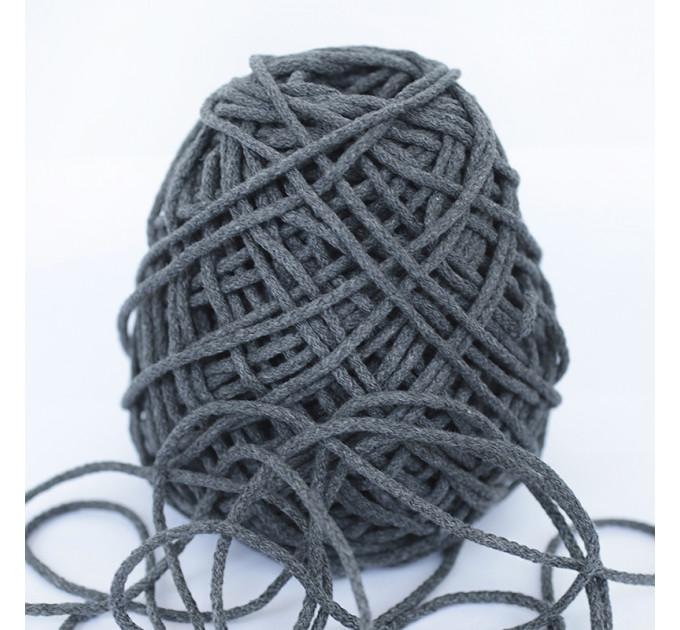 Шнур для рукоделия отделочный 60184/200-012, серый