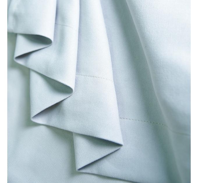 Комплект боковых штор (2шт.) Т2022, светло-серый