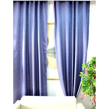 Комплект боковых штор (тюль) 2701, фиолетовый