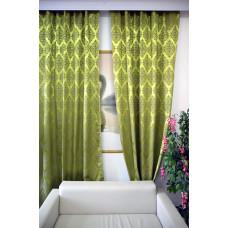 Комплект боковых штор (тюль) 3172, цветная