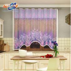 Занавеска на кухню / тюль с печатью 09С6334