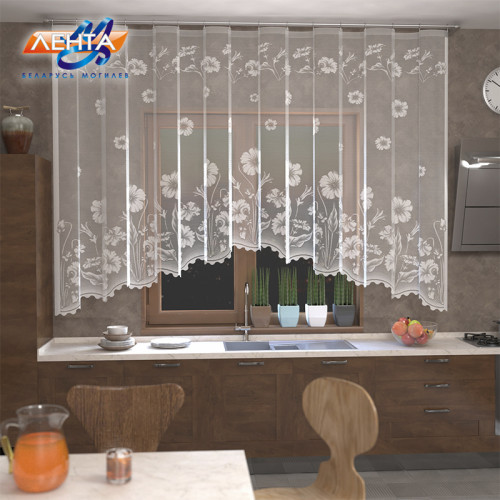 Занавеска на кухню / тюль Р.Е 209П