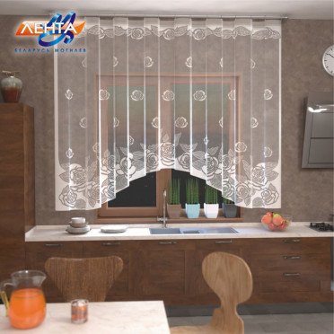 Занавеска на кухню / тюль Р.Е 595Р