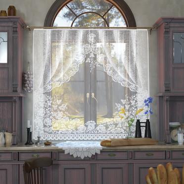 Занавеска на кухню / тюль 05С6011-Г50