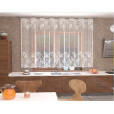 Занавеска на кухню / тюль Т910 Ника 255х165