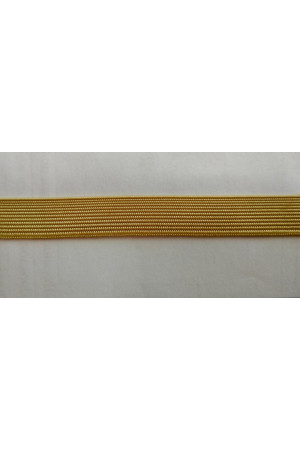 Лента галун Р.9717 желтый