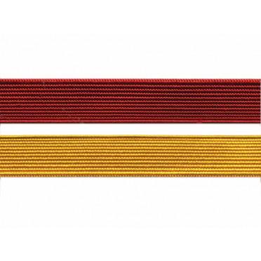 Лента галун 02С3033 красный