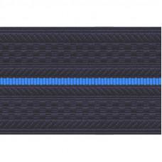 Лента для погон 3663 - темно-синий с 1 голубым просветом