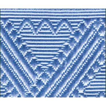 Лента для погон 8971 - генеральский голубой
