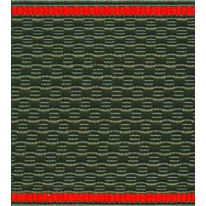 Лента для погон 07с3394 - оливковый с красным кантом