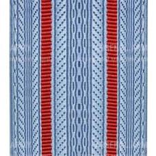 Лента для погон 3652 - серо-голубой с 2 красными просветами