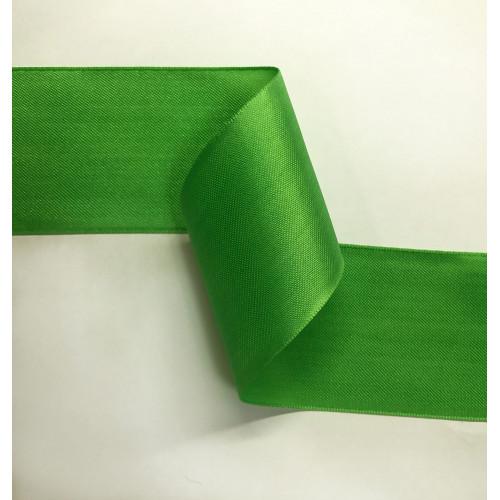 Лента атласная 2С406 яблочно-зеленый