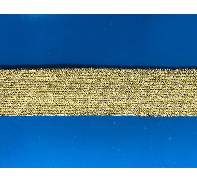 Лента эластичная Р.4157 золото