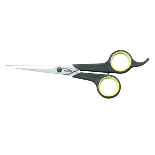 Ножницы парикмахерские с усилителем с комбинированной ручкой Soft touch H-087