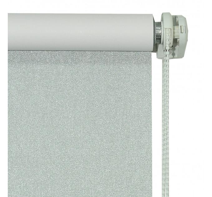 Рулонная штора Эмми, серебряная