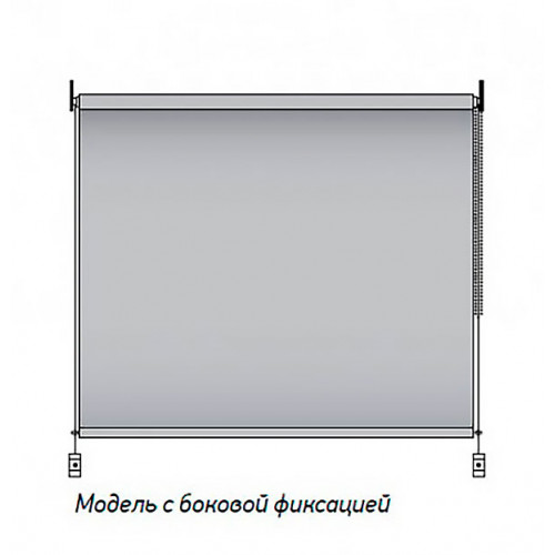 Рулонная штора Венеция 0225 белый