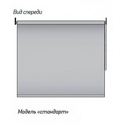 Рулонная штора Сакура 0225 серый