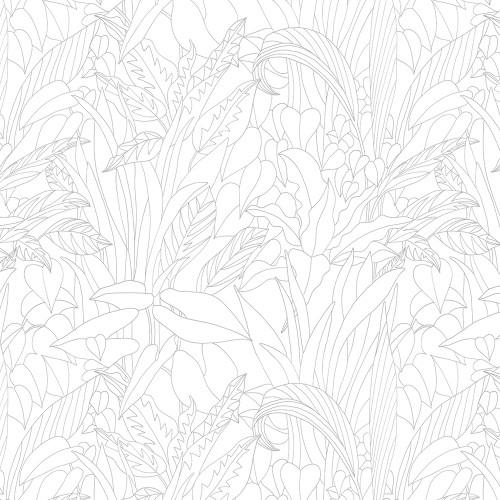 Рулонная штора Тропик 0225 белый