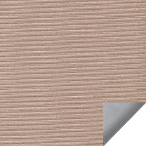 Рулонная штора Альфа alu black-out 2868 светло-коричневый