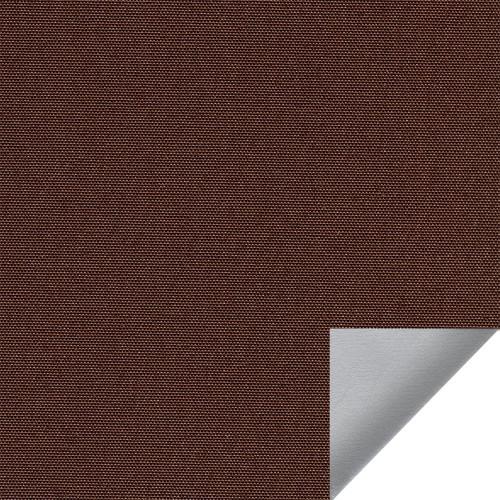 Рулонная штора Альфа alu black-out 2871 темно-коричневый