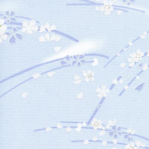 Рулонная штора Сакура 5102 голубой