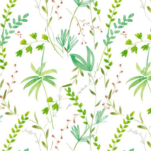Рулонная штора Джунгли 0225 белый
