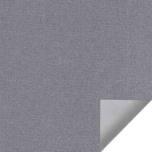 Рулонная штора Альфа alu black-out 1852 серый