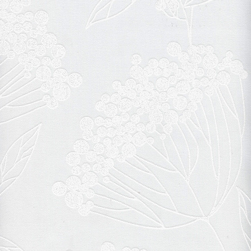 Рулонная штора Рябина black-out 0225 белый