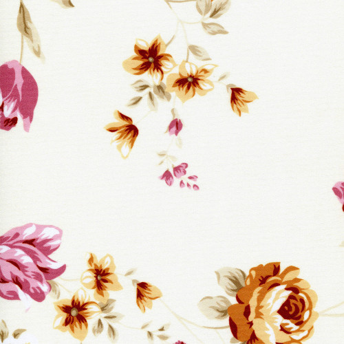 Рулонная штора Болгарская роза 4059 розовый