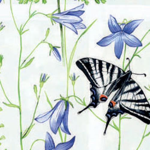 Флора 0225 белый