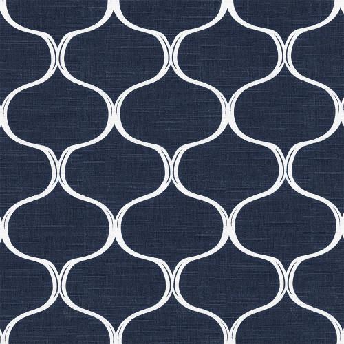 Рулонная штора Деон 5470 темно-синий