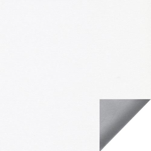 Рулонная штора Альфа alu black-out 0225 белый